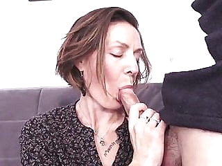 French milf hard fuck - anal, too anal mature top rated sex